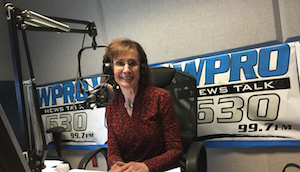 Patricia Raskin Fills in for John DePetro WPRO